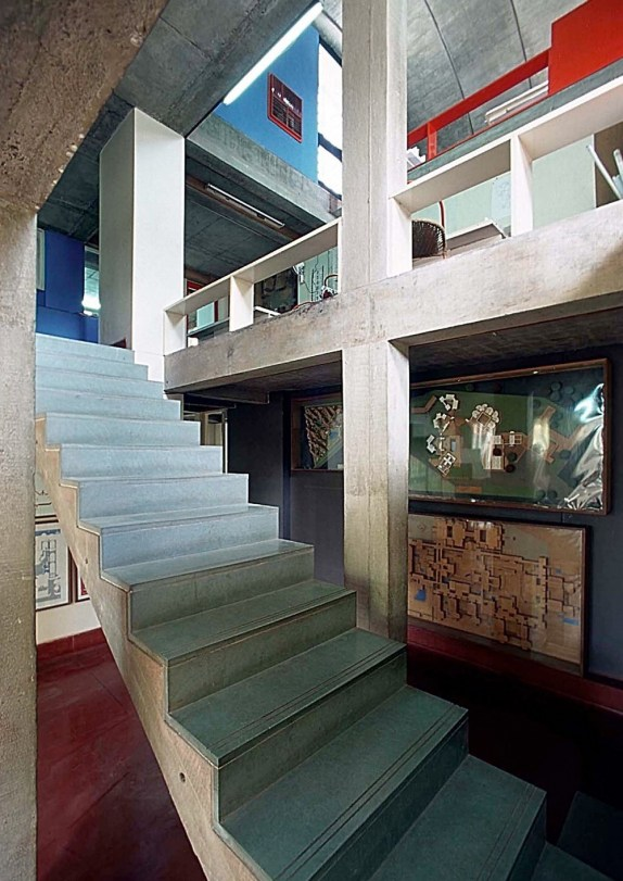 Sangath interior