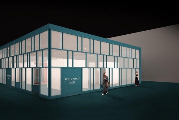 Elle Decor Design Box, esterno
