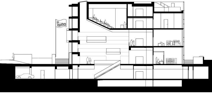 kaan architettura sezione laboratori