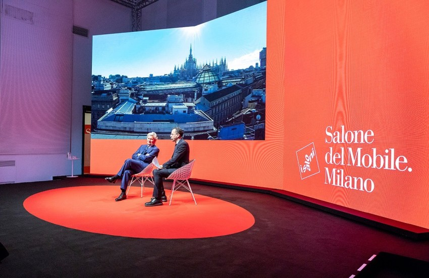Claudio Luti Salone del Mobile 2019