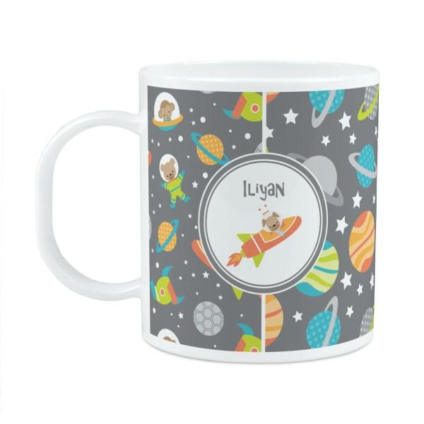 Space Explorer Plastic Kids Mug (Personalized ...