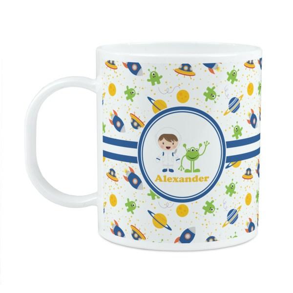 Boy's Space Themed Plastic Kids Mug (Personalized ...
