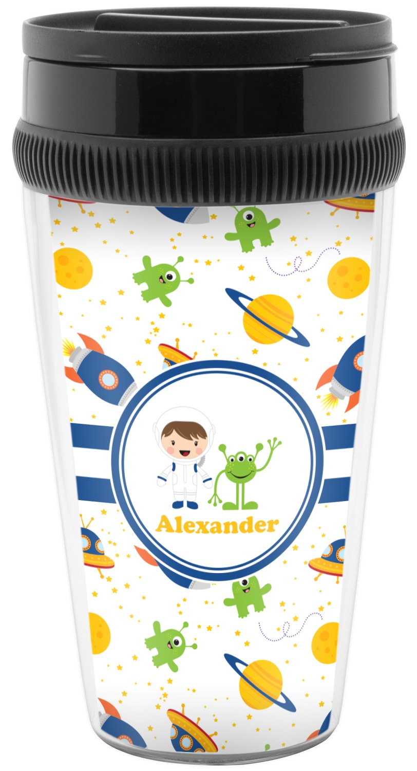 Boy's Space Themed Travel Mug (Personalized) - YouCustomizeIt