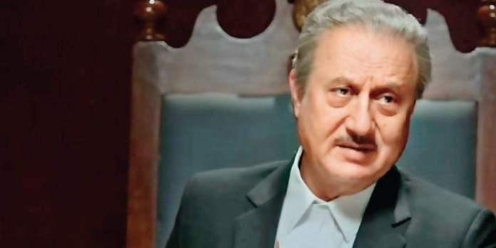 Anupam Kher role in One Day