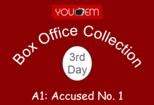 A1: Accused No. 1 3rd Day Box Office Collection