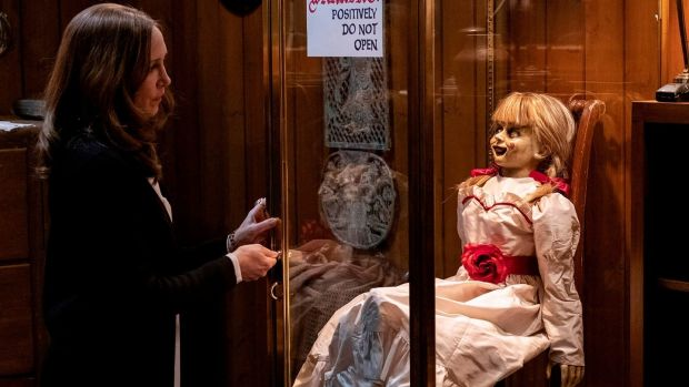 Annabelle Comes Home ghost Scene