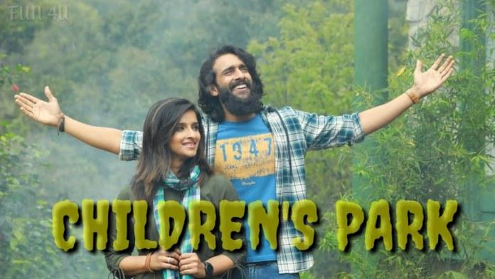 Children's Park film romantic scene