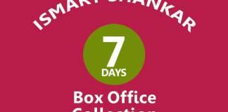 iSmart Shankar 7th Day Box Office Collection