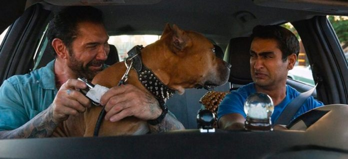 Stuber Movie Cab Scene