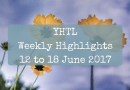 YHTL Weekly Highlights – 12 to 18 June 2017