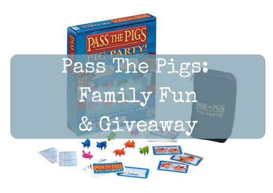 Pass The Pigs: Family Fun & Giveaway