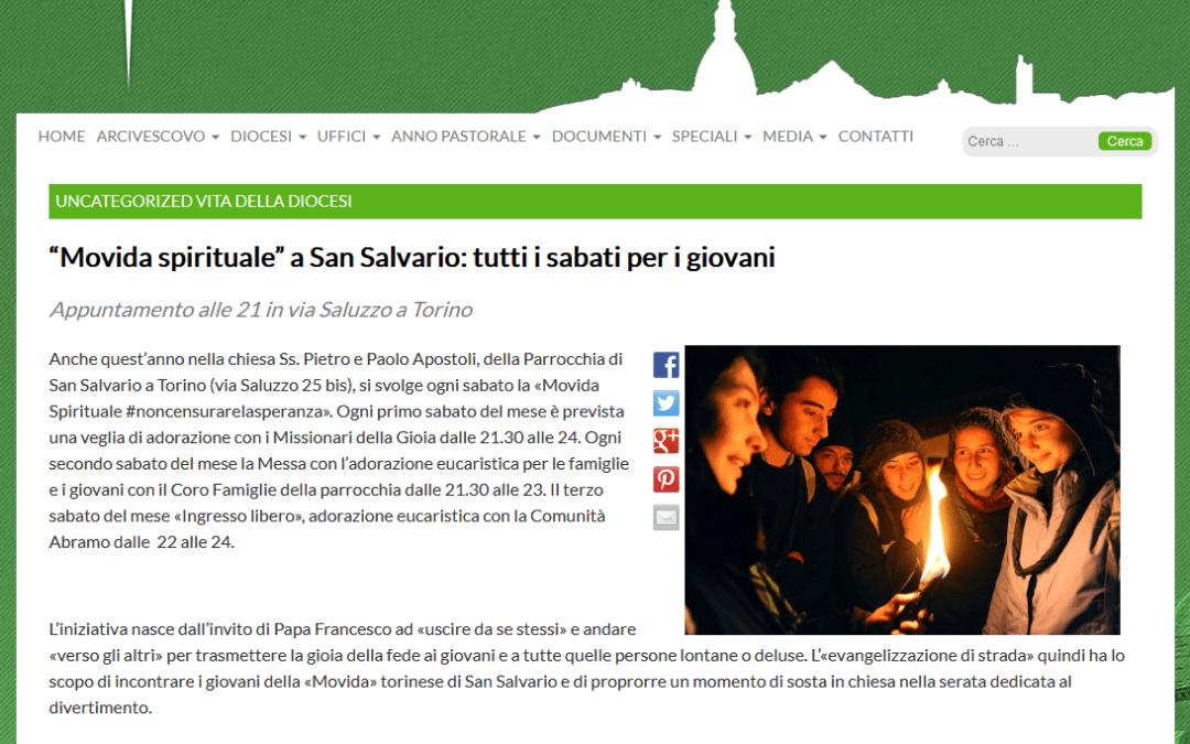 #NONCENSURARELASPERANZA – Movida Spirituale Torino