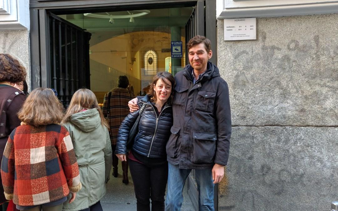 Adoración eucarística bendecida al Niño del Remedio de Madrid