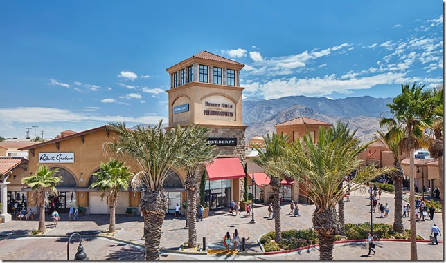 沙漠奥特莱斯 Desert Hills Premium Outlets
