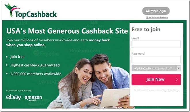 TopCashback 返利网