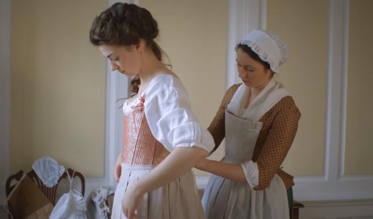 Το ντύσιμο μιας Κυρίας του 18ου αιώνα