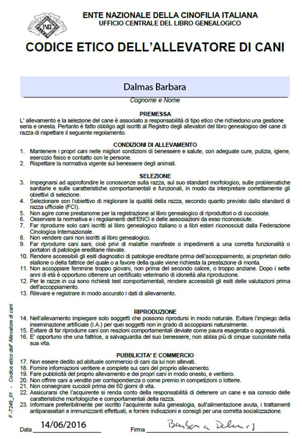 codice etico barbara
