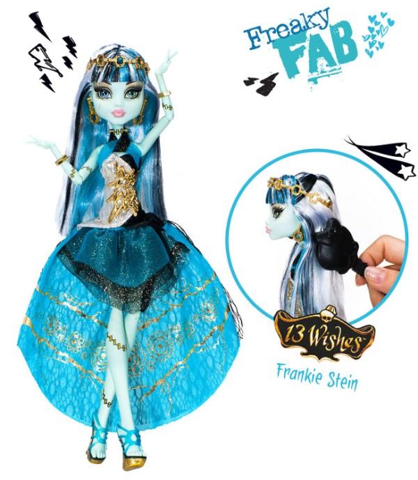 Красивый фото обзор кукол Монстер Хай 13 Желаний ...