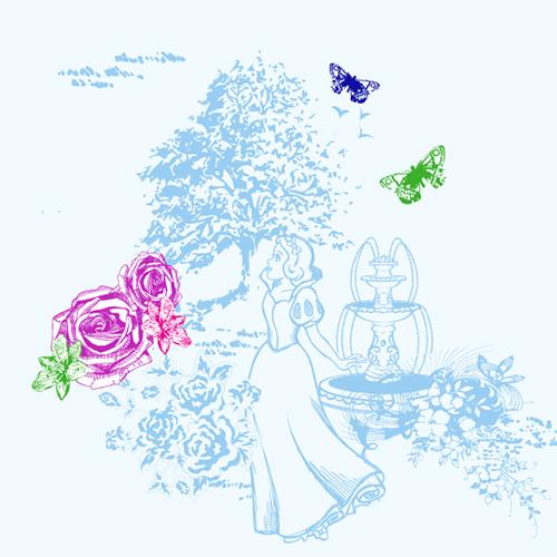Стилизованные картинки Дисней Принцесс - YouLoveIt.ru