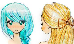 Как рисовать прически - YouLoveIt.ru