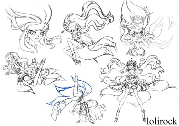Лолирок: Рисунки художника дизайнера персонажей - YouLoveIt.ru
