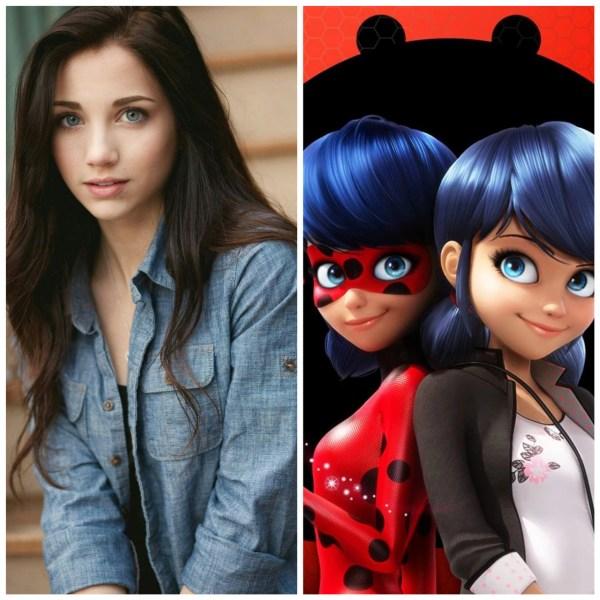 Актеры, которые смогли бы сыграть в фильме про Леди Баг и ...