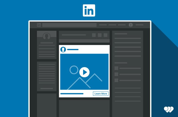 Détail des différents formats pour l'utilisation d'une vidéo publicitaire sur LinkedIn