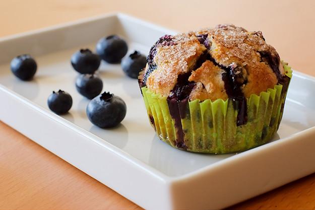 Muffins à la myrtille