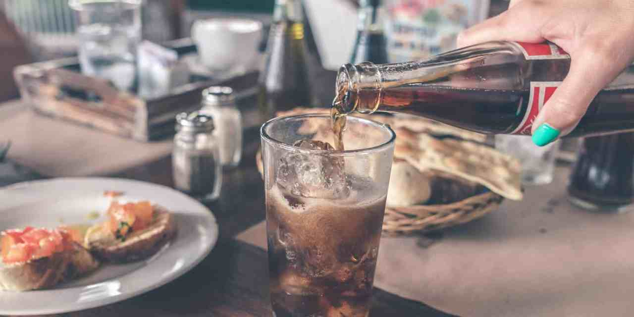 2 mins Coke Vanilla Fizz