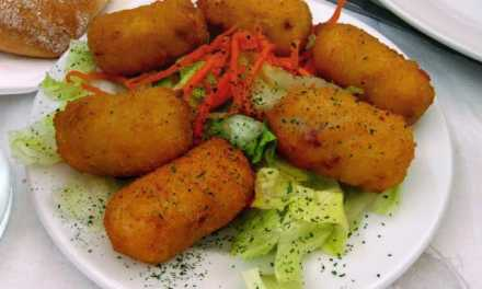 Bread Potato Croquettes Snacks