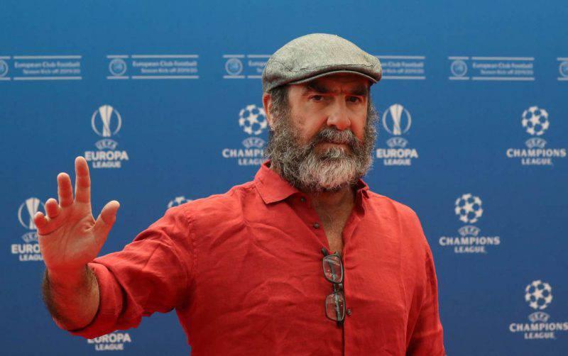Eric cantona of manchester united. Eric Cantona protagonista della serie Lavoro a Mano Armata ...
