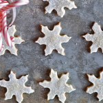 snowflake christmas cookies shortbread