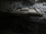 baptizing table in a salt cathedral Colombia