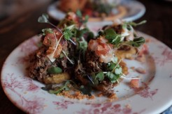 tostones from Finka Table & Tap Miami