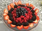fruit display decorative party younfolded blog