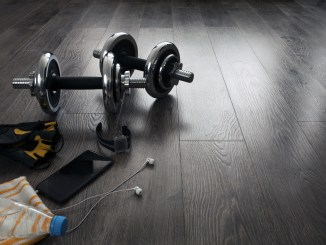 All the necessary equipment for fitness