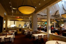 Brio Dining Area Italian restaurant Dolphin Mall review younfolded blog