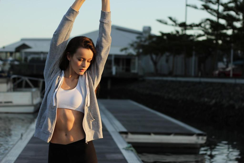woman stretching boost your mood younfolded blog