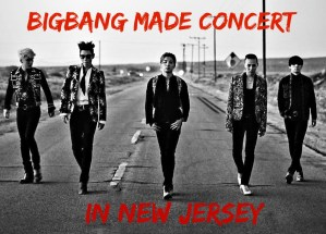 BigBang Made Concert In New Jersey