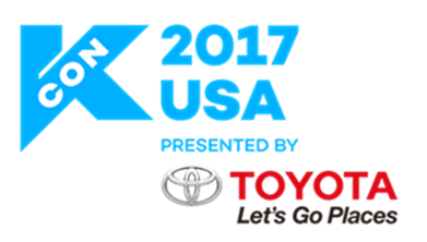 KCONLA 2017 Special Guests: Sam Okyere, Kevin Woo and Kim Tae Woo
