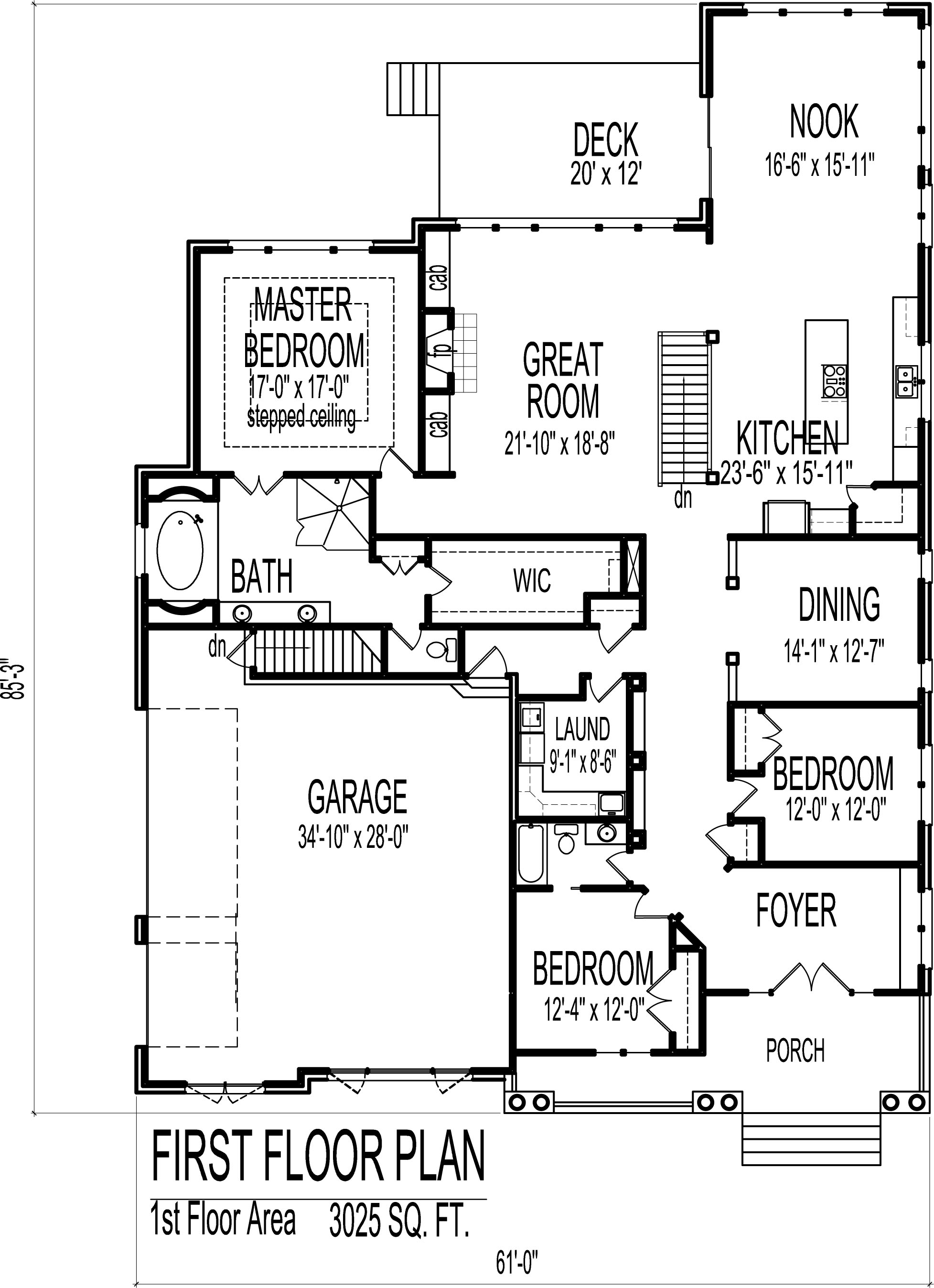 Small Tudor Style Cottage House Floor Plans 3 Bedroom