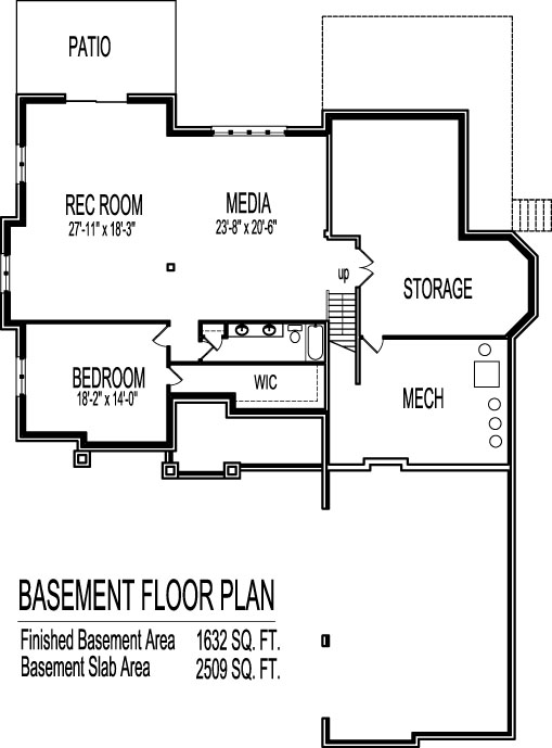 2 Story House Floor Plans With Basement 5 bedroom floor plans with basement | amazing house plans
