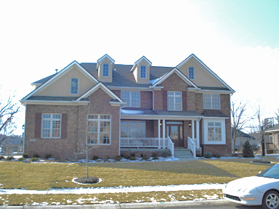 Average cost of a 3 bedroom house in indiana for Low cost home additions
