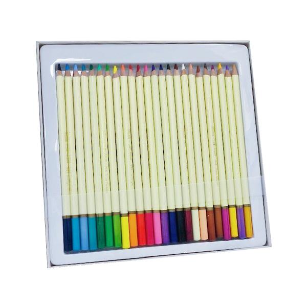 Set of 24 assorted color watercolor pencils