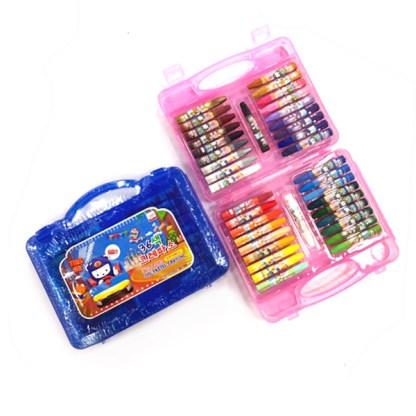 Set of 36 Oil Pastel crayons in packaging