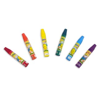 set of 6 assorted color oil pastel crayons