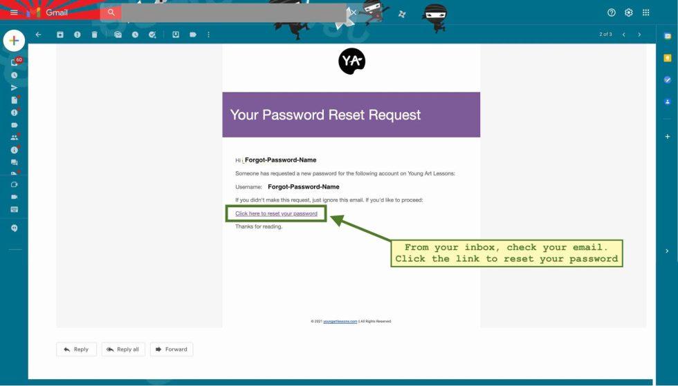 Lost Password Screenshot 3