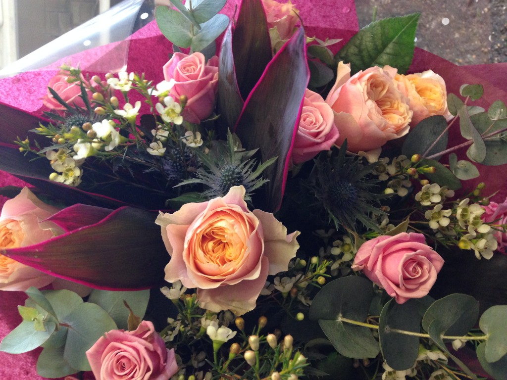 wedding florist Wiltshire Young blooms