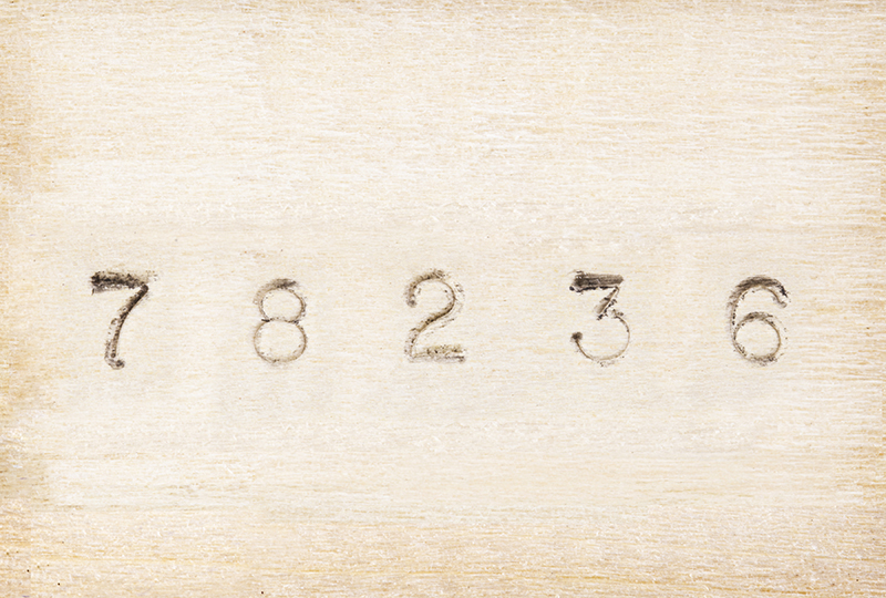 Steel Young Bros 01362 36 Piece Hand Cut Stamp Combination Letter and Figure Set 1//16 Character Size