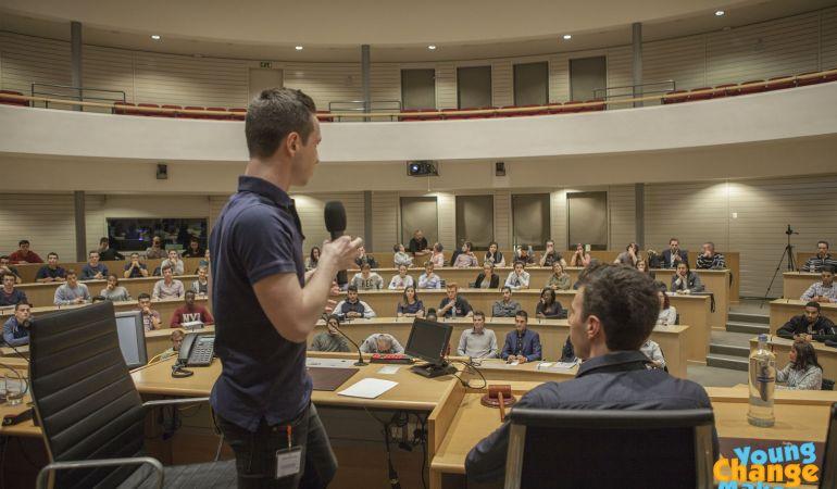 Conférence Young Change Maker au Parlement de la Fédération Wallonie-Bruxelles